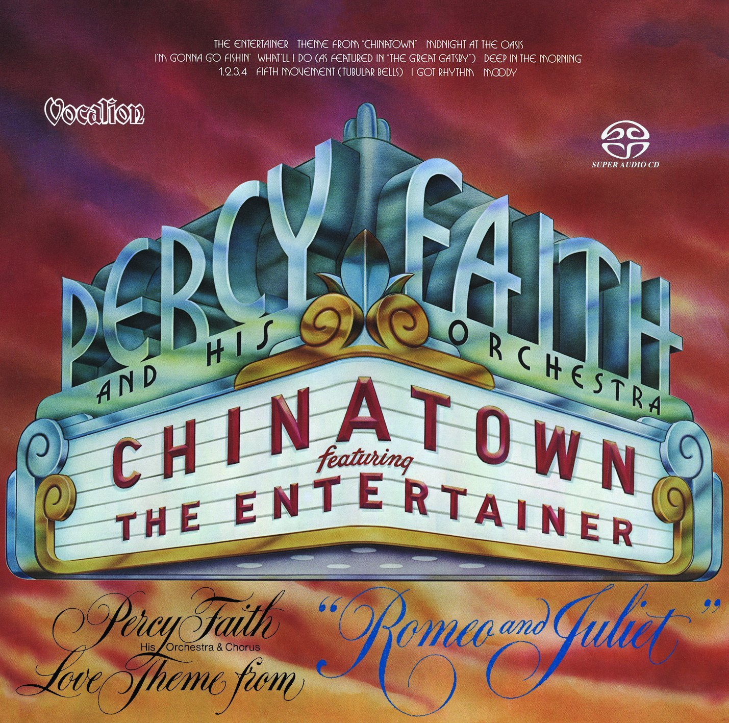 Percy Faith SACD: Chinatown & Love Theme from Romeo and Juliet
