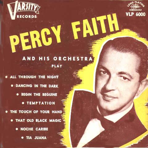 Percy Faith Album Percy Faith And His Orchestra