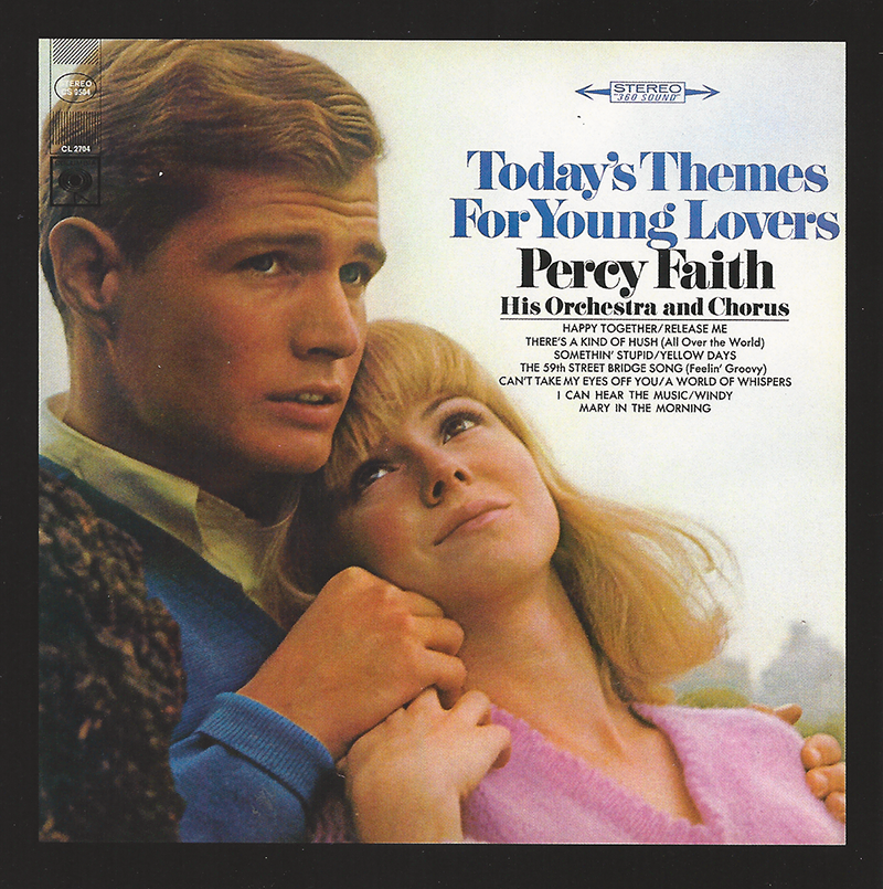 Percy Faith CD: Today's Themes for Young Lovers